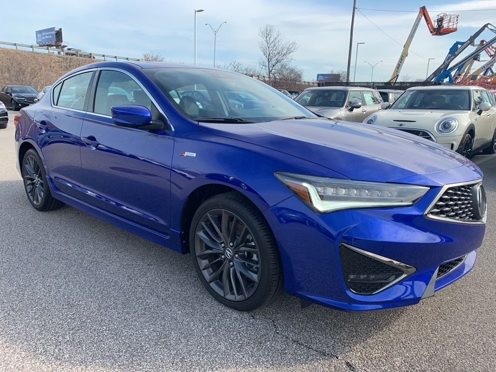 New 2019 Acura ILX with Technology and A-Spec Packages