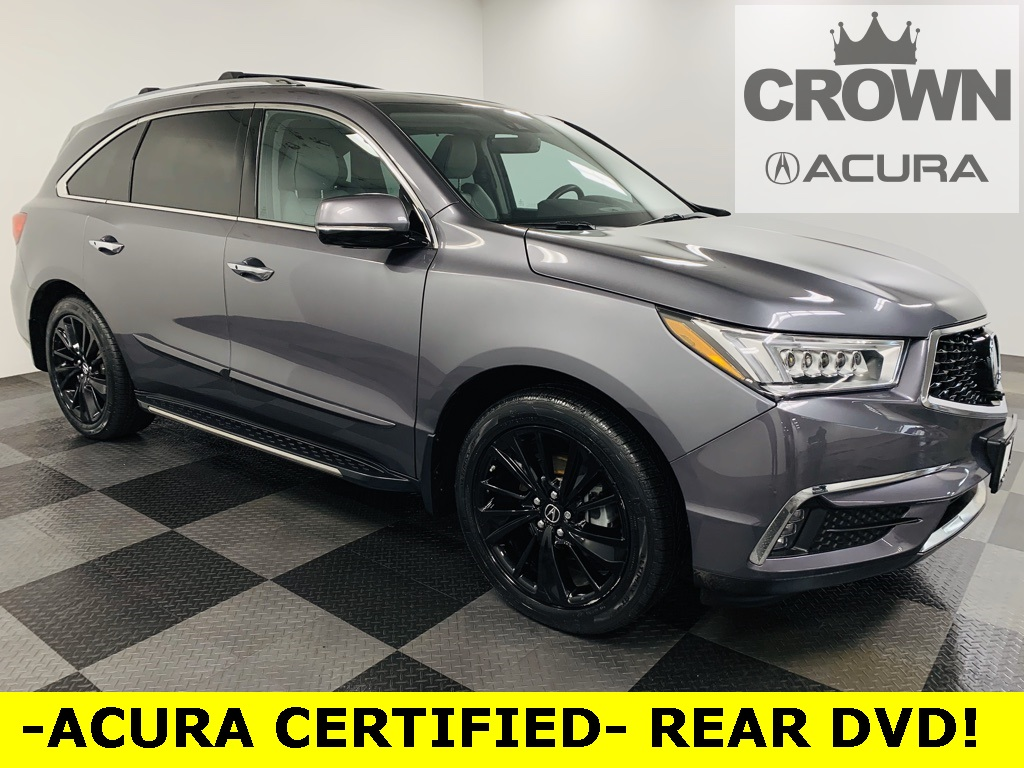 Certified Pre-Owned 2017 Acura MDX SH-AWD with Advance and Entertainment Packages