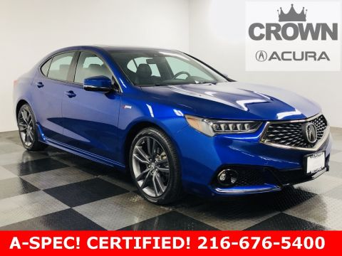 2018 Acura TLX 3.5 V-6 9-AT P-AWS with A-SPEC